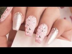 Peonies / Organic Nails® - YouTube