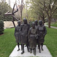 """Nasher Sculpture Center, titled """"Rush Hour"""". One of my favorite pieces at The Nasher."""
