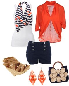"""summer style"" by byzrmylf on Polyvore"