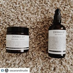 #Repost @oscarandtrudie ・・・ We live an organic lifestyle because of the positive impact on us and the earth  Miniboss and me tried out @dermaid balm&baby oil. It is #veganskincare #organic and very gooooood