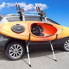 Camping Pod, Kayak Camping, Kayak Fishing Tips, Camping Hacks, Kayak Rack For Suv, Kayak Fishing Accessories, Truck Camper Shells, Kayak Seats, Car Roof Racks