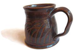 Unique Coffee Mug, Unique Coffee Cup, Unique Mug, Handmade Ceramic Mug, Ceramic Mug, Ceramic Cup, Unique Tea Cup, Unique Tea Mug, Great Gift by ACoupleofCranes on Etsy