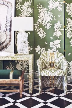Chinoiserie Chic: A Chinoiserie Vignette and New Work by Kerry Steele