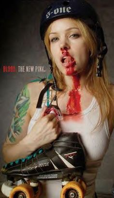 One of the first things I saw before I joined.. I really didn't want to be bloody.. scared me off... (I have yet to bleed from anything)