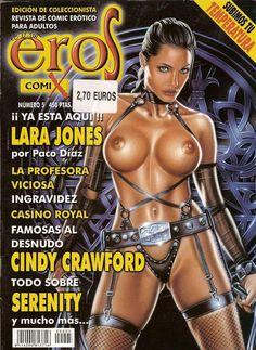 Журнал эротических комиксов от издательства Eros comix.