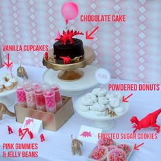 Girly Dinosaur Party; and just my kind, all storebought goodies!