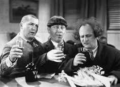 L'chaim! Brothers, Yehuda and Moshe Horowitz, along with  their friend, Louis Feinberg, AKA The Three Stooges, were  members.