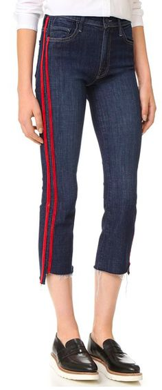 racing strip jeans