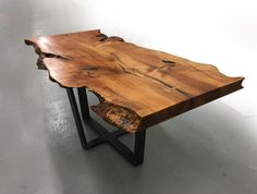 TAPERED CROSS - Live edge custom furniture and architectural elements made from reclaimed wood and fallen trees by Fallen Industry. Fallen Industry is a home and office design studio based in NYC Brooklyn. Created by New York sculptor and designer Paul Kruger.