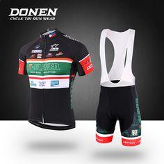 DONEN 2018 New Profession Zestawy z krótkim rękawem Jersey Cycling MTB  Oddychające koszulki rowerowe Odzież Maillot 273ae1432