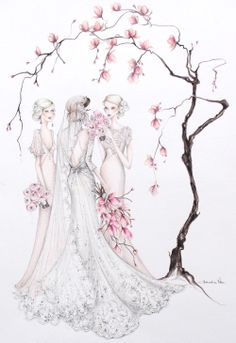 The Magnolia Bride ~ Alexandra Nea