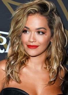 Daily Beauty Buzz: Rita Ora's Heart-Themed Eye Makeup from InStyle.com