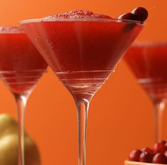 Day 14 Drink: Embrace the tart side of the Cranberry Colada! #cranberry #bacardimixers99 #rum #cocktail #drink