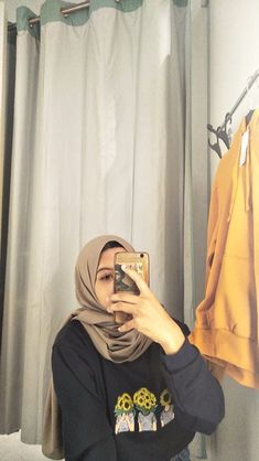 Hijab Casual, Hijab Chic, Casual Outfits, Ootd Fashion, Fashion 2020, Fashion Dresses, Hijab Fashion Inspiration, Aesthetic Girl, Fashion Photography