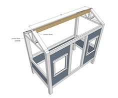 Cabin Bed by Jen Woodhouse Toddler Cabin Bed, Diy Toddler Bed, Ana White, Diy Cabin Bed, Cabin Beds, White Cabin, Building A Cabin, Building Plans, Loft Bed Plans