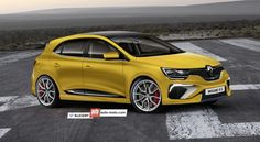 The 2016 Renault Megane RS will reportedly be launched soon after the standard version, between spring and summer during the same year. Megane 4 Rs, Megane Sport, Automobile, Rs 4, Renault Megane, Ford, Car Car, Concept Cars, Cars And Motorcycles