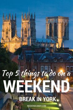 York has so much going on within its ancient city walls that it's hard to decide what to do first - especially on a city break! Here are my top 5 things to do in York on a weekend escape.