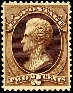 Jackson44 1870-2c - U.S. presidents on U.S. postage stamps - Wikipedia, the free encyclopedia