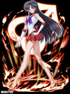 Sailor Mars\Hino Rei