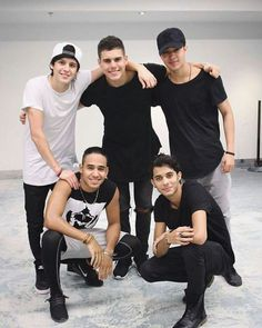 they look so cute in black and white! Brian Christopher, Cnco Richard, Spanish Artists, O Love, Real Man, Music Songs, Cool Bands, Beautiful Men, Guys