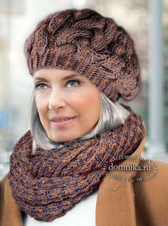 Knitting Paterns, Baby Knitting, Knitted Blankets, Knitted Hats, Crochet Beret, Beanie Hats For Women, Crochet Instructions, Scarf Hat, Knitting Accessories