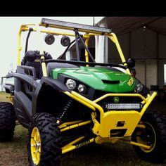 John Deere RSX850. 62hp Vtwin 4v. If you like Polaris RzR, you will really like this. Love this and drove this!! :0