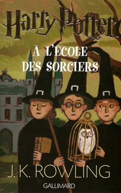 French version of a Harry Potter and the Sorcerer's Stone