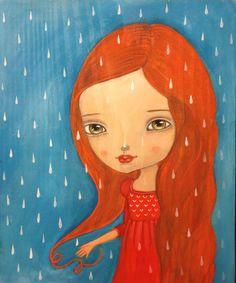 Rain illustration by Ankakus