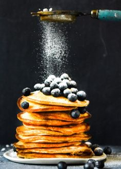 Quick and Easy Pancakes with Thermomix Instructions. Simple, delicious and free from gluten, grains, dairy, nuts and refined sugar. Enjoy.