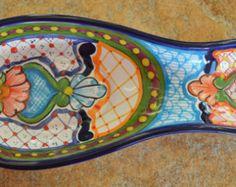 Talavera Spoon rest von Talaverapottery auf Etsy