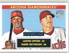 2007 Topps 52 Dynamic Duos (1952 Edition) DD7 Justin Upton / Mark Reynolds - Arizona Diamondbacks (Baseball Cards) >>> Find out more about the great product at the image link.