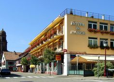 Hôtel-restaurant de l'Ange - Guebwiller - #Alsace