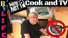 VLOG Why I don´t cook food in my RV and Why I don´t Watch TV remember li...