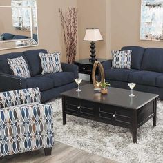 The Creeal Heighs Ink Collection from Benchcraft by Ashley Furniture is undeniably striking and beautiful. Make a statement and shop in stores or online at AFW.com.