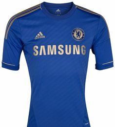 New Chelsea kit for 2012-2013.