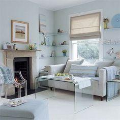 living room a narrow space