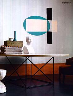 ELLE DECORATION HOLLAND - LC15 TABLE DE CONFÉRENCE, design  Le Corbusier