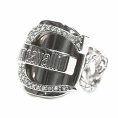 Just Cavalli By Roberto Cavalli Silver-Tone Just Joy Ring - $79.99