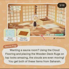 Animal Crossing Wild World, Animal Crossing Guide, Animal Crossing Pocket Camp, Deck Rug, Nintendo Switch, Happy Home Designer, Motifs Animal, Wooden Decks, Animal Games
