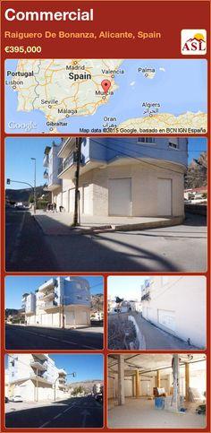 Commercial in Raiguero De Bonanza, Alicante, Spain Murcia, Valencia, Alicante Spain, Facade, Investing, Commercial, Street, Business, Palmas