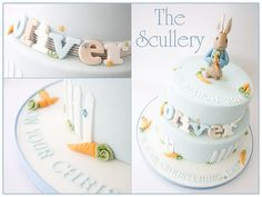 Peter Rabbit Cake by The Scullery (Louise), via Flickr