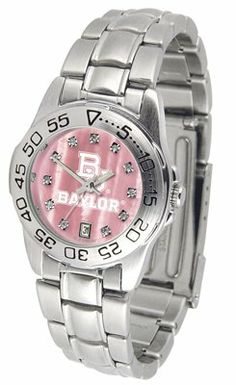 Baylor University Bears Sport Steel Band - Ladies Mother Of Pearl - Women's College Watches by Sports Memorabilia. $69.13. Makes a Great Gift!. Baylor University Bears Sport Steel Band - Ladies Mother Of Pearl