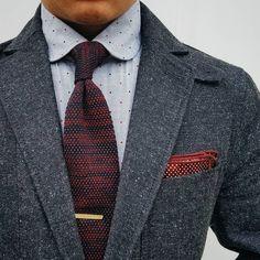 Men's Pocket Square Inspiration #1 I recently...   MenStyle1- Men's Style Blog