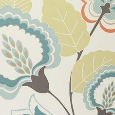 Orissa Spice Floral - Large Fabric Trim - Clarke & Clarke Fabric Trimmings