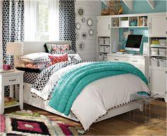 Design Inspiration of Interior,room,and kitchen: 42 Teen Girl Bedroom Ideas
