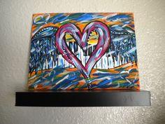 Graffiti+Heart+and+Piano+Keys+with+Wings+original+by+HeartsAndKeys,+$45.00