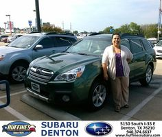 ALWAYS THE BEST CUSTOMER SERVICE. WILL KEEP COMING BACK! - Kenneth Nye Thursday, August 08, 2013 http://www.huffinessubaru.com/?utm_source=Flickr_medium=DMaxxPhoto_campaign=DeliveryMaxx