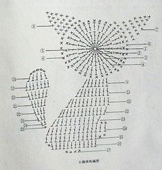 Crochet cat applique cross stitch Ideas for 2019 Crochet Applique Patterns Free, Cat Applique, Crochet Animal Patterns, Crochet Diagram, Crochet Chart, Stuffed Animal Patterns, Crochet Blanket Patterns, Crochet Motif, Crochet Flowers