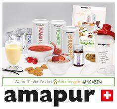 Tester für die Amapur 10-Tage-Intensiv-Diät gesucht. Ausschreibung 19.03.2015-26.03.2015. Nähere Infos unter: http://www.abnehmguru-magazin.de/amapurtest2/