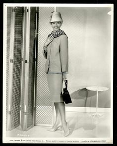 3/17/14  7:40a  Universal International Pictures ''Midnight Lace''  Doris Day Fashions  1960